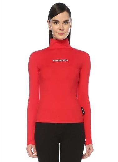 Vetements Bluz Kırmızı